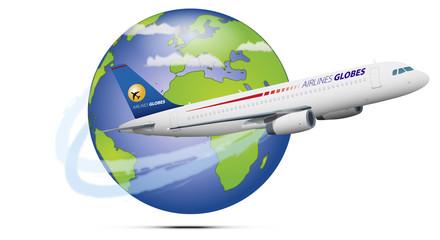 Globe avion 02