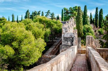 Gibralfaro fortress (Alcazaba de Malaga). Malaga. Spain