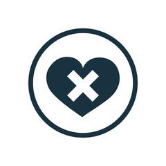 heart plaster icon