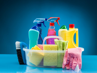 cleaning products and supplies