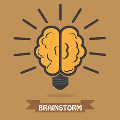 Light bulb brain