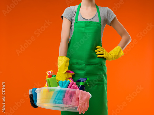 cleaning lady - 78756671