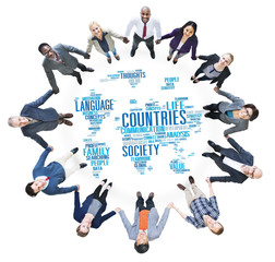 Countries Nation Society Territory International Concept