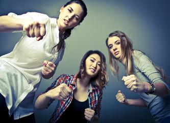 Mädchen Gang