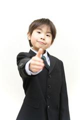 子供ビジネスマン