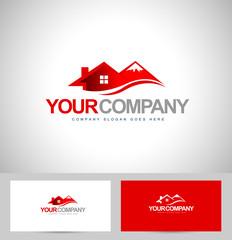 House Logo Design. Real estate logo vector