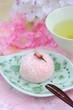 Obrazy na płótnie, fototapety, zdjęcia, fotoobrazy drukowane : 桜の和菓子