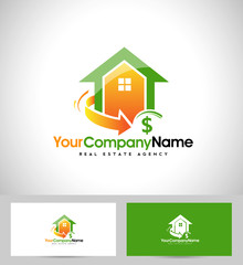Real Estate Logo Design. House Logo Design.