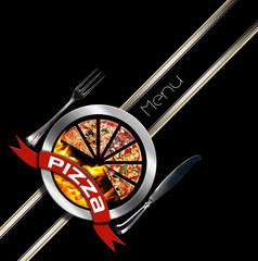 Pizza Menu Design
