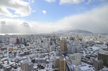 Hokkaido city scape