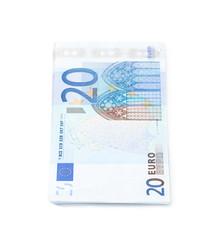 Few twenty euro bills