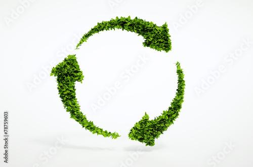 Eco sustainable development sign. - 78759603