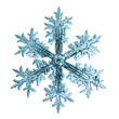 snowflake crystal natural - 78760601