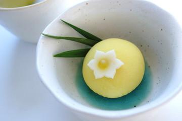 水仙の和菓子