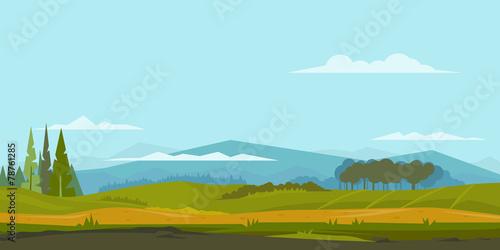 Nature Landscape Background - 78761285