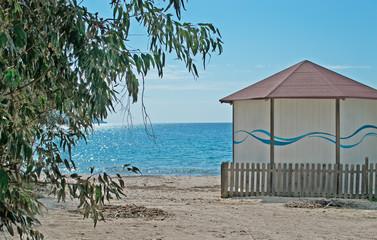 beach hut in Mugoni