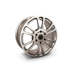 Alloy Wheel Rim isolated on white