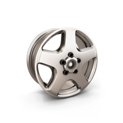 Alloy Wheel Rim on a white background