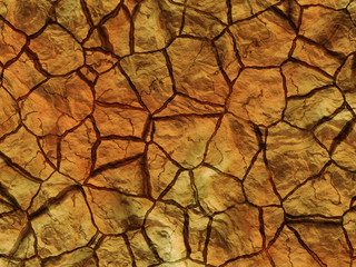 dry cracked rock texture. abstract relief pattern