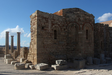 Rhodos Griechenland Akropolis Säulen 2