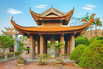 Oriental pagoda