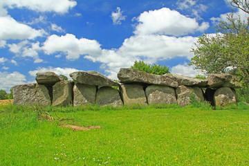 Grosssteingrab Mougau-Bihan, Bretagne, Frankreich