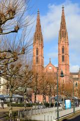 Wiesbaden, Bonifatiuskirche (Februar 2015)