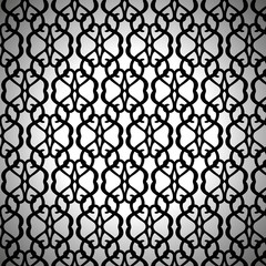 Forged Seamless Pattern on White Background