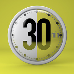 Tempo, orologio, timer, cronometro, 30 minuti