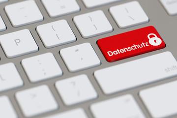 Datenschutz im Internet am Computer