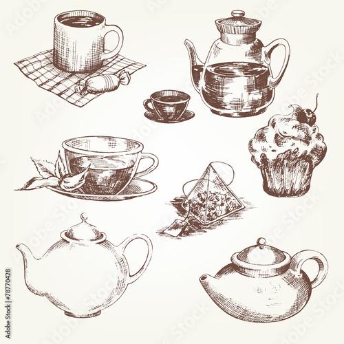 Tea set - 78770428