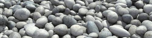 Hintergrund als Panorama aus vielen Steinen