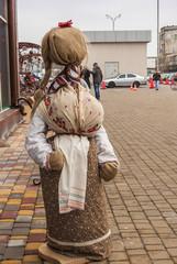 Scarecrow Shrovetide in Kiev in 2015