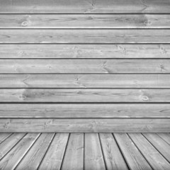 Texture with gray wooden planks
