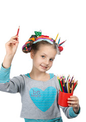 child and creativity, development