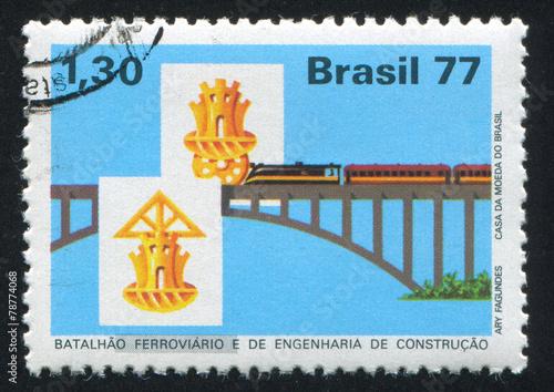 Fototapeta Railroad