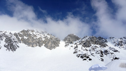 snow mountains for skiing in Innsbruck