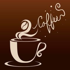Coffee design, vector illustration.