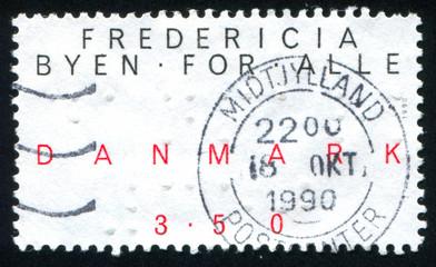 Denmark stamp