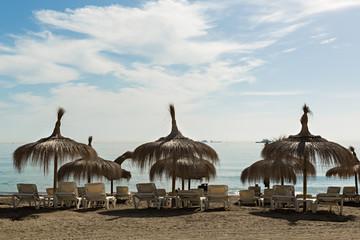 Playa de la Caleta en Málaga 2.