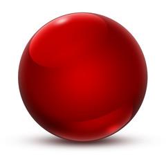 Kugel Rot