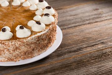 Cappuccino Sahne Torte