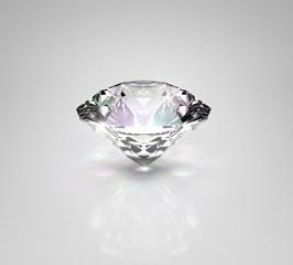 Diamond on light background