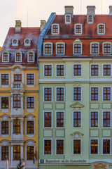 Dresden typical houses