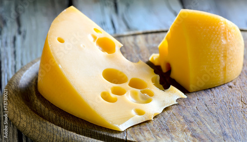 Cheese on a board - 78780021