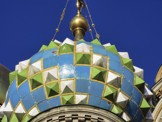 Russia, Moscow, russian church dome