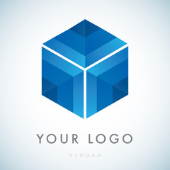 Psitive Cube Logo