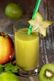 Fototapeta Healthy green Smoothie