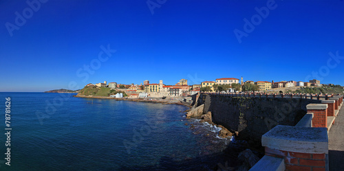 Toscana,Piombino,porto turistico.