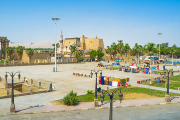The square of Luxor